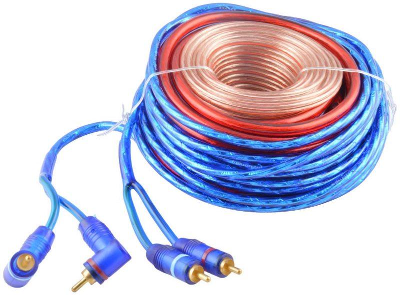 Worldtech WT-777WIR Car Amplifier Wiring Kit on