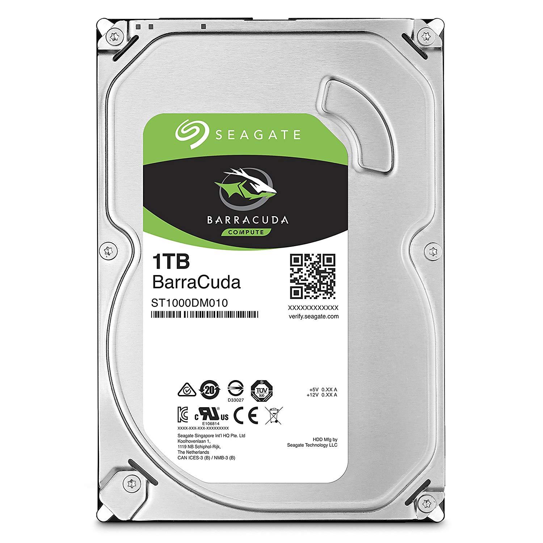 Seagate Barracuda 1TB Internal Hard Disk