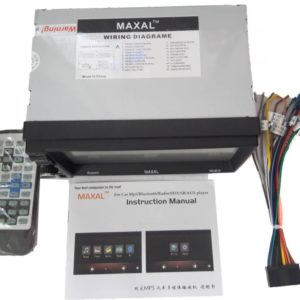 Maxal Mx-9019 Double Din Car Stereo