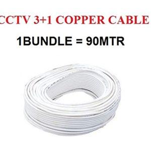 CCTV Camera Cable CCTV 3+1 Cable CCTV Cable CCTV Cable 90 Meters