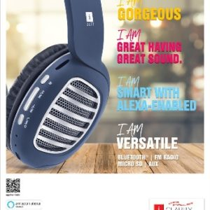 iBall Decibel Headset iBall Decibel Wireless Headphones iBall Alexa Headset iBall Decibel Alexa Headset alexa headset wavehertz