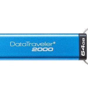 Kingston Data Traveler DT2000 64GB Kingston Secure Pendrive Kingston DT2000 64GB Encypted Flash Drive