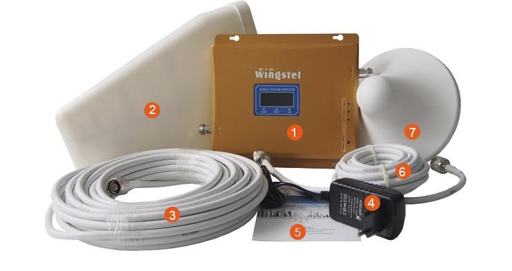 Mobile Signal Booster Network Signal Booster Cell Phone Signal Booster Network Signal Booster Kit 2G 3G 4G Signal Booster