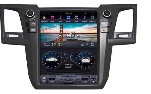 Toyota Fortuner Tesla Screen Wavehertz