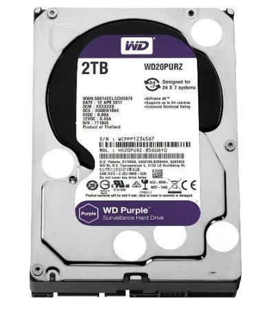 WD 2TB Purple Hard Disk WD Hard Disk 1TB Surveillance Hard Disk