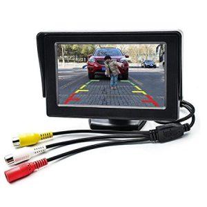 Car Rear View Monitor 4.3 Inch Car Display Rear View Camera Monitor