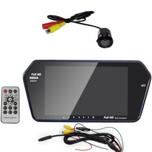 Rear View Monitor with Camera Car parking monitor with camera rear View Mirror with camera Car Parking Kit
