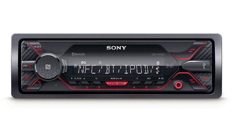 Sony DSX-A410BT Car Stereo Sony DSX-A410BT Lowest Price Sony DSX-A410BT Single Din Car Stereo Sony Bluetooth Car Stereo