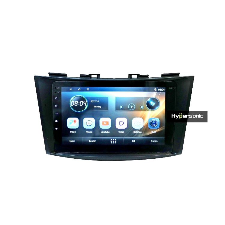Hypersonic Swift Dzire Android Stereo