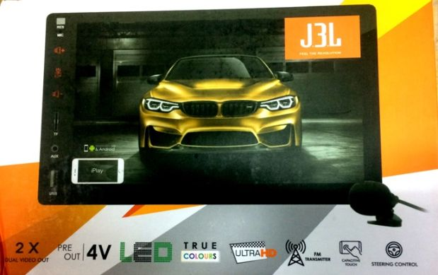 J3L Double Din Stereo